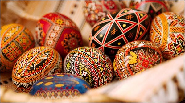 Ukrainian painted egg - pysanka