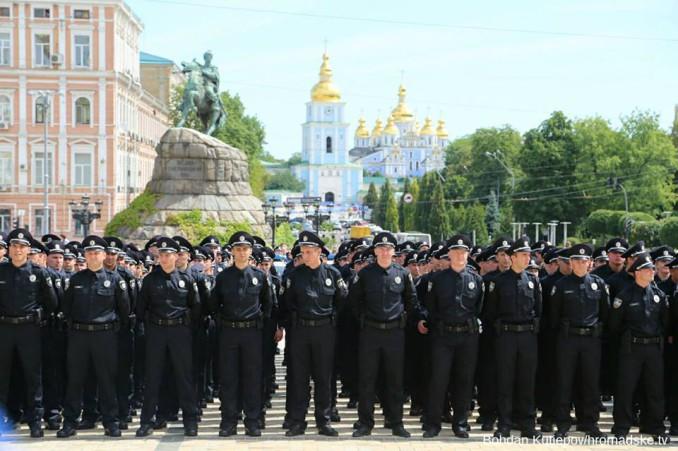 new ukrainian police