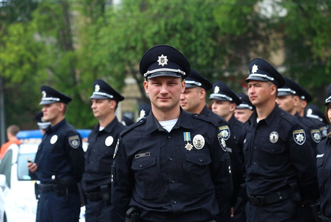 ukraine police uniform